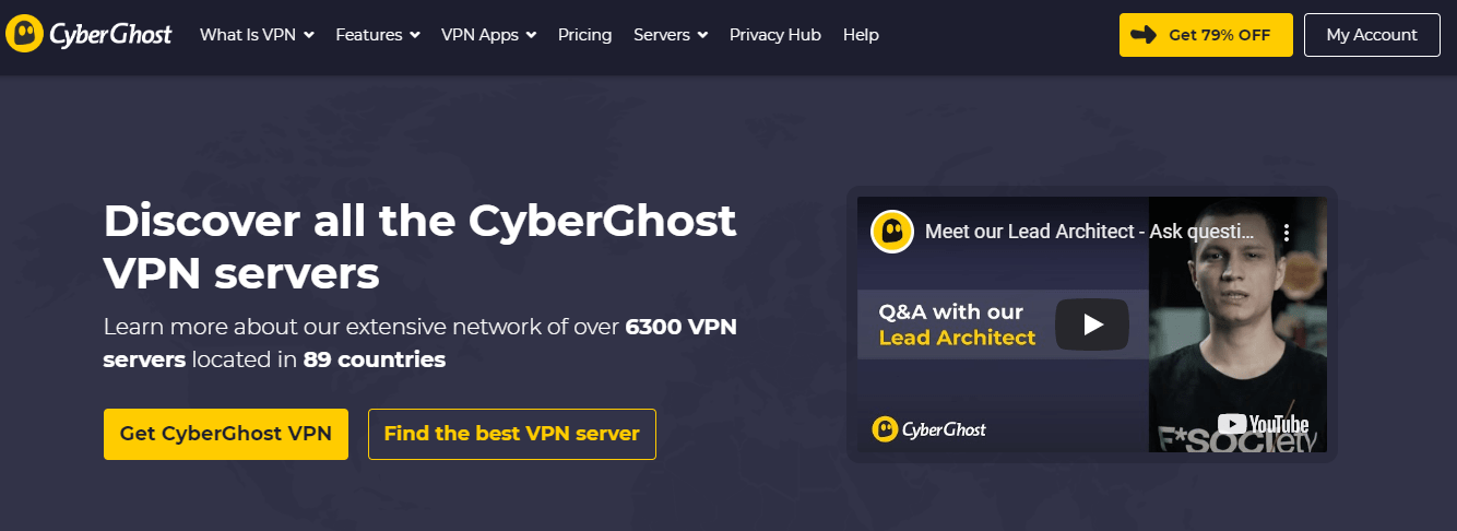 CyberGhost VPN for us netflix