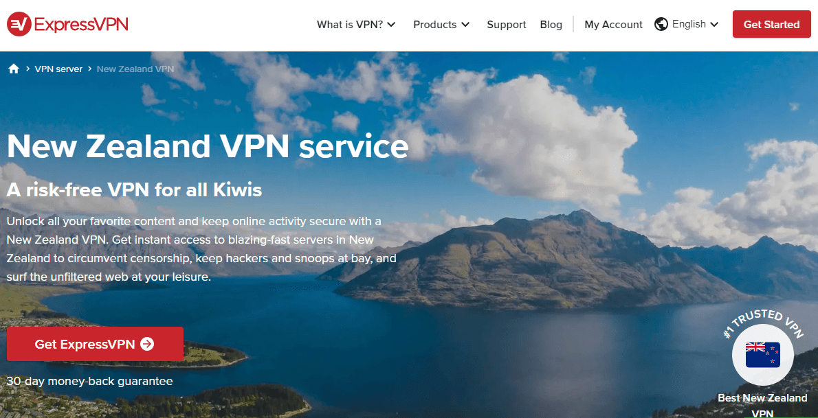 Express VPN New Zealand
