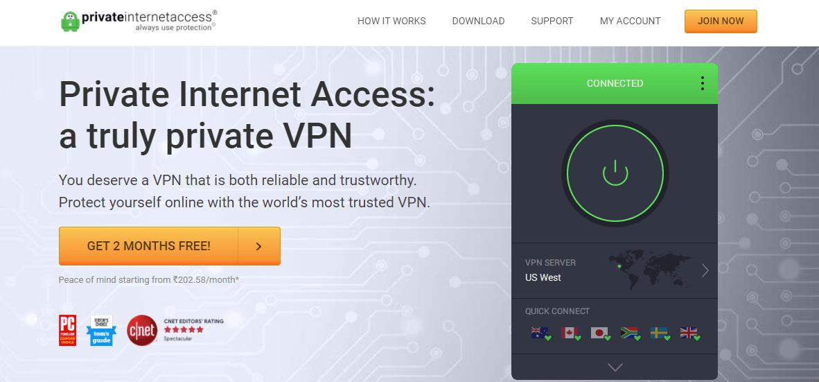 Private Internet Access NZ
